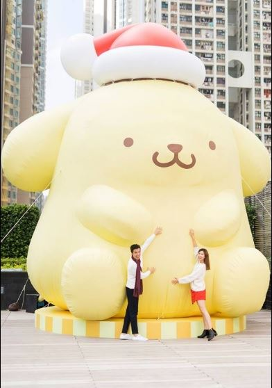 That is one big Pompompurin display!