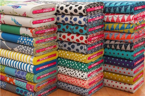 All New Echino Fabrics!
