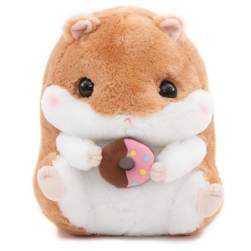 big light brown white hamster Coroham Coron Cafe plush toy Japan