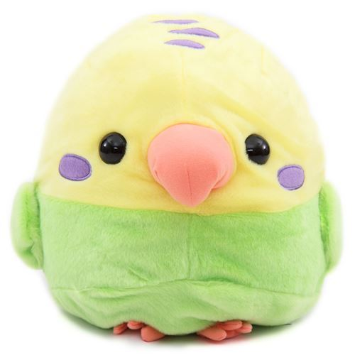 big yellow green tissue box cover bird Kotori Tai plush toy Japan