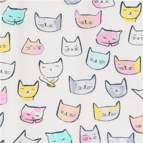Dear Stella with small colorful cats
