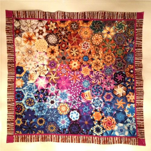 Check out this stunning patchwork quilt! 1