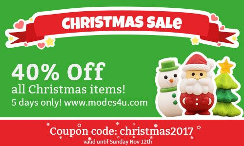 Christmas SALE! 40% off Christmas Goodies for a limited time only!