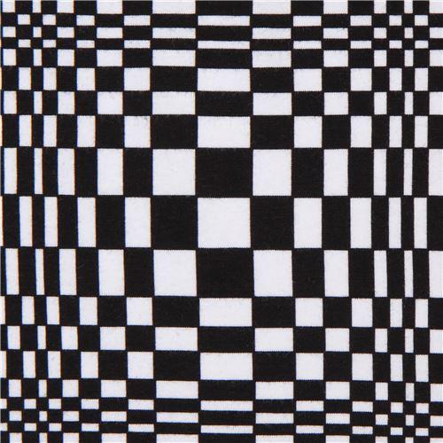 Robert Kaufman geometric knit fabric