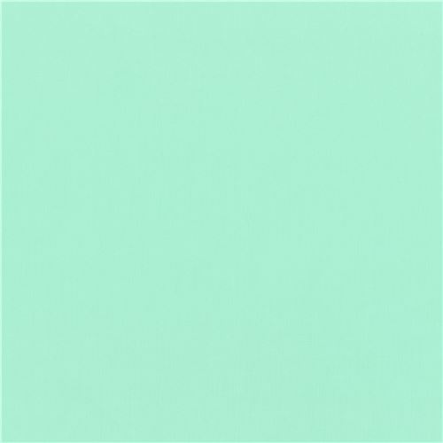 Aruba mint green Kona fabric Robert Kaufman USA