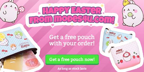 Get a FREE Easter gift with your order!