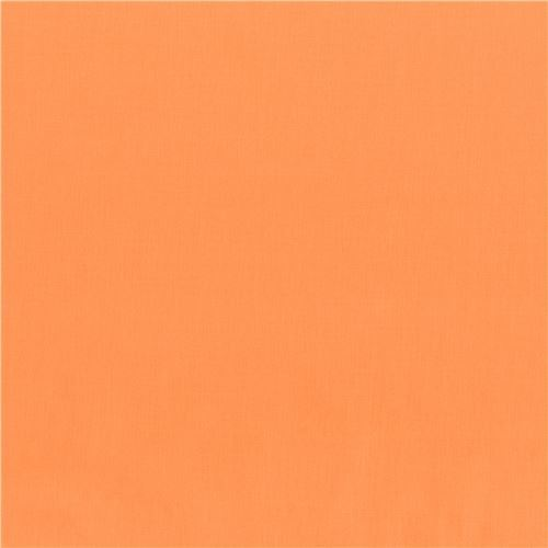 Cantaloupe peach-orange solid Kona fabric Robert Kaufman USA