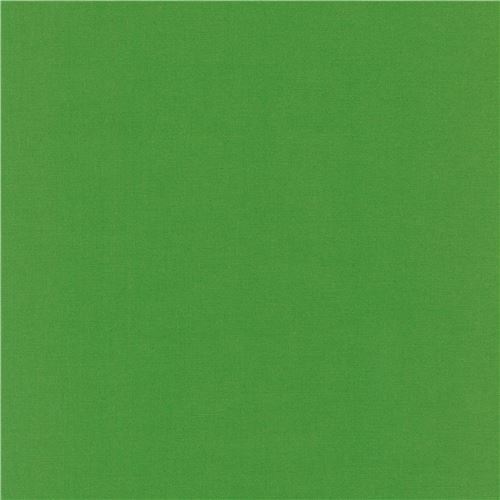 Grasshopper solid green Kona fabric Robert Kaufman USA