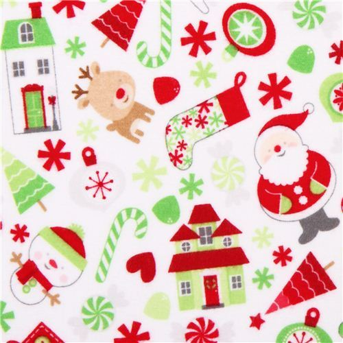 Riley Blake Christmas flannel fabric Home for the Holidays