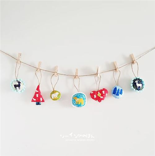 Aren't these Christmas ornaments adorable?
