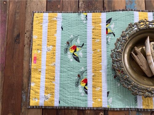 These are Birch fabrics, used in the spread
