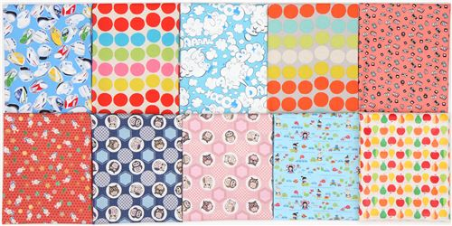 Here's your chance to win 10 stunning Japanese fabrics! Join our giveaway now!
