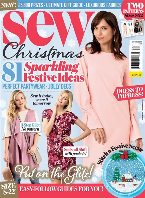 Check out our giveaway in Sew Magazine!