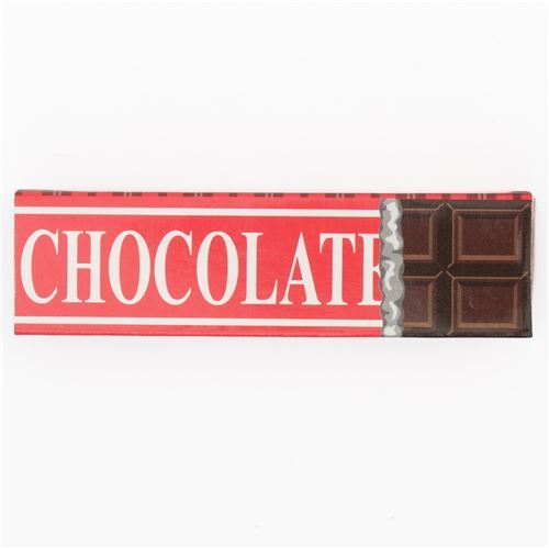 cute chocolate scented square eraser 4pcs from Japan