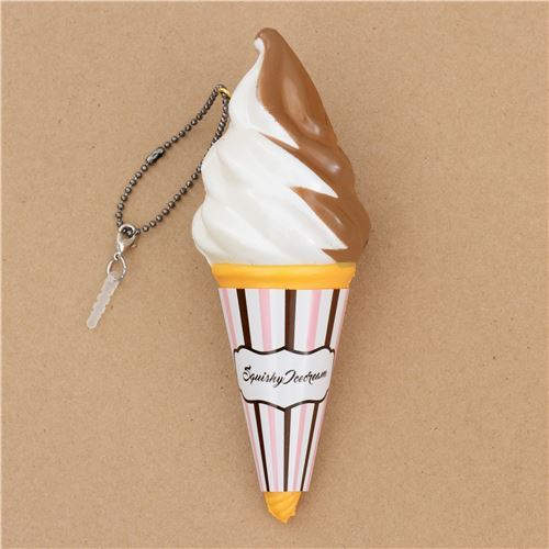 brown white ice cream sprinkles Classic Ice Cream scented squishy by Puni Maru