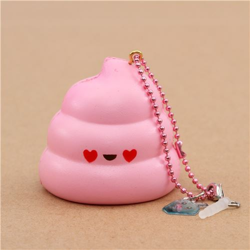scented pink Mini Crazy Poo squishy by Puni Maru