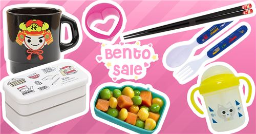Get the cutest bento and bento accessories in our new sale!