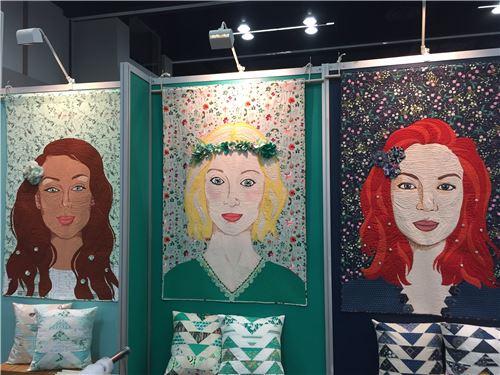 Art Gallery Fabrics put up these beautiful designs