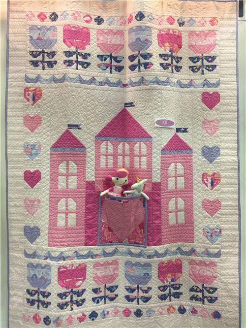 An adorable Moda quilt