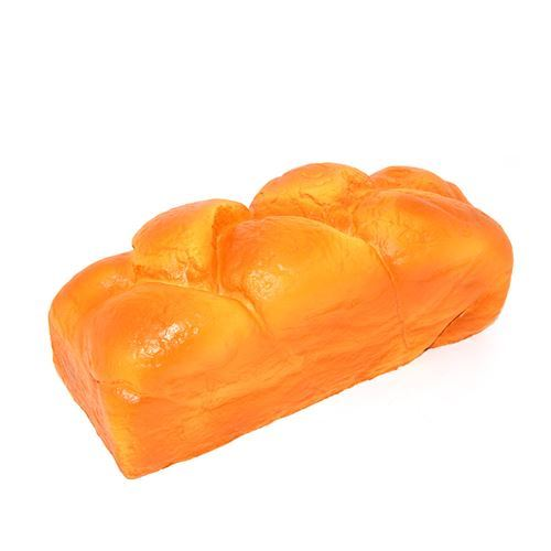 scented big brown Jumbo English bread loaf squishy by Kiibru