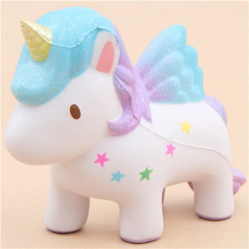 scented white unicorn squishy by Yumeno