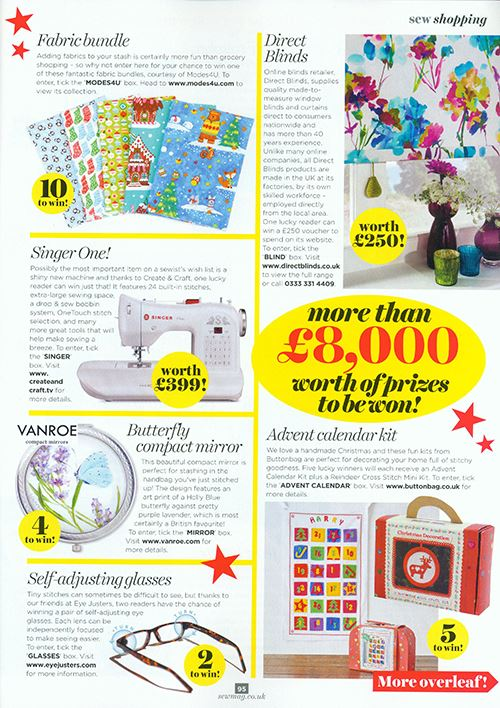 Our fabric bundle in their Christmas edition