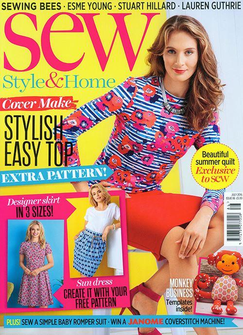 Sew Magazine's July Issue