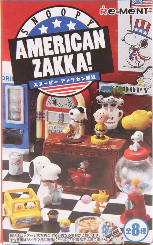 Snoopy American Zakka Re-Ment blind box