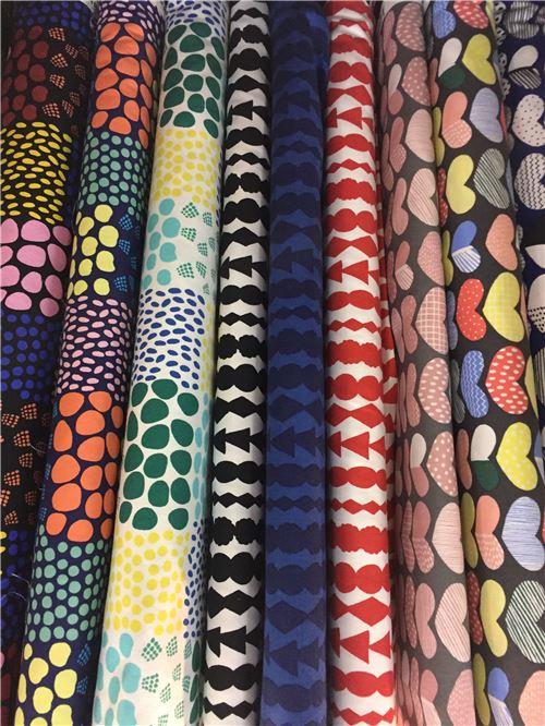 Beautiful fabric with patterns