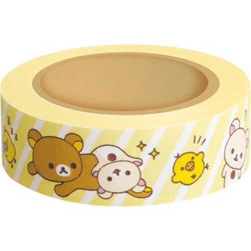 Rilakkuma deco tape by San-X from Japan