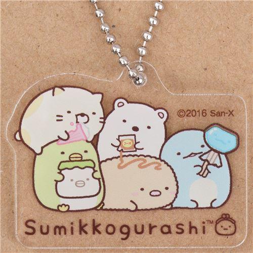San-X Sumikkogurashi shy animal charm