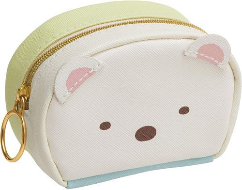 Sumikkogurashi shy penguin and bear pouch