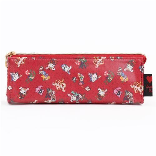 red Sentimental Circus animal pencil case by San-X