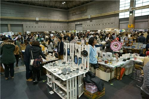 Many people from across Japan came to the event