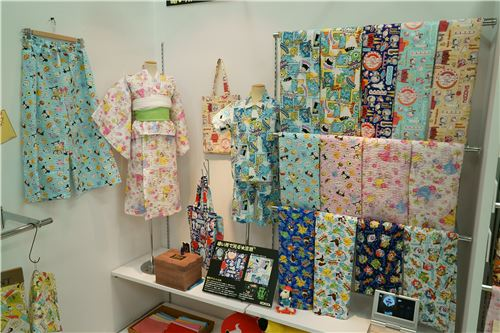Fabrics featuring Disney Tsum Tsum characters and more