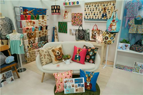 Items made of Trefle fabrics