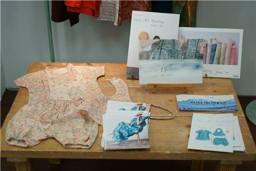 Children's items using nani iro fabrics