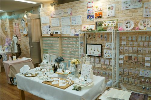 DIY and jewellery items on show