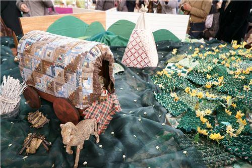More creativity on display