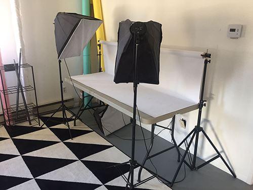 A photography area