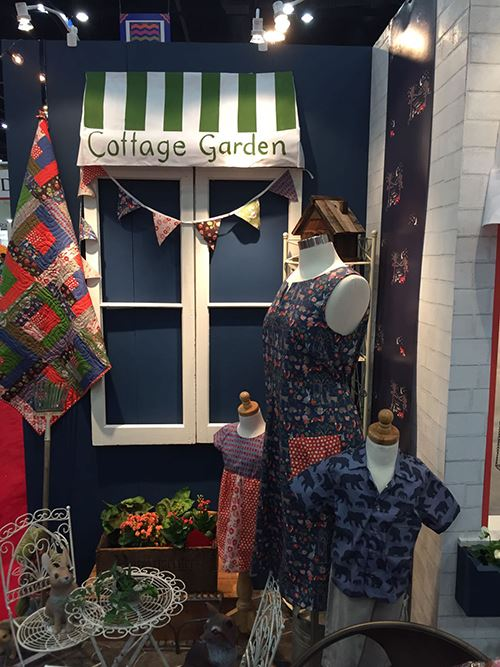 More lovely Monaluna fabrics shown off with these clothes